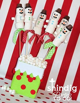 thought maybe cute for kids to do for an activity - and can eat it too. :)