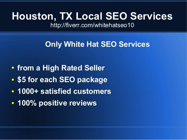 Houston Cheap Local SEO Services #SEO #LocalSEO #Houston