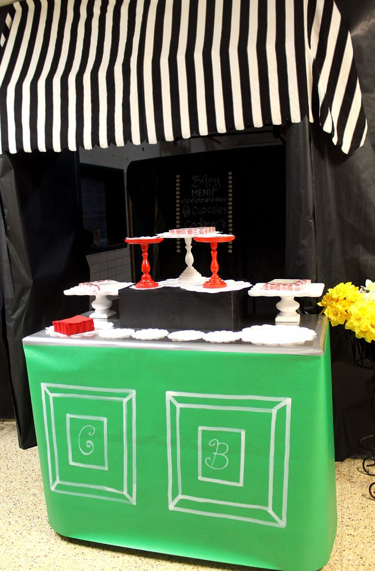 nyc theme after prom | polka dots and picket fences