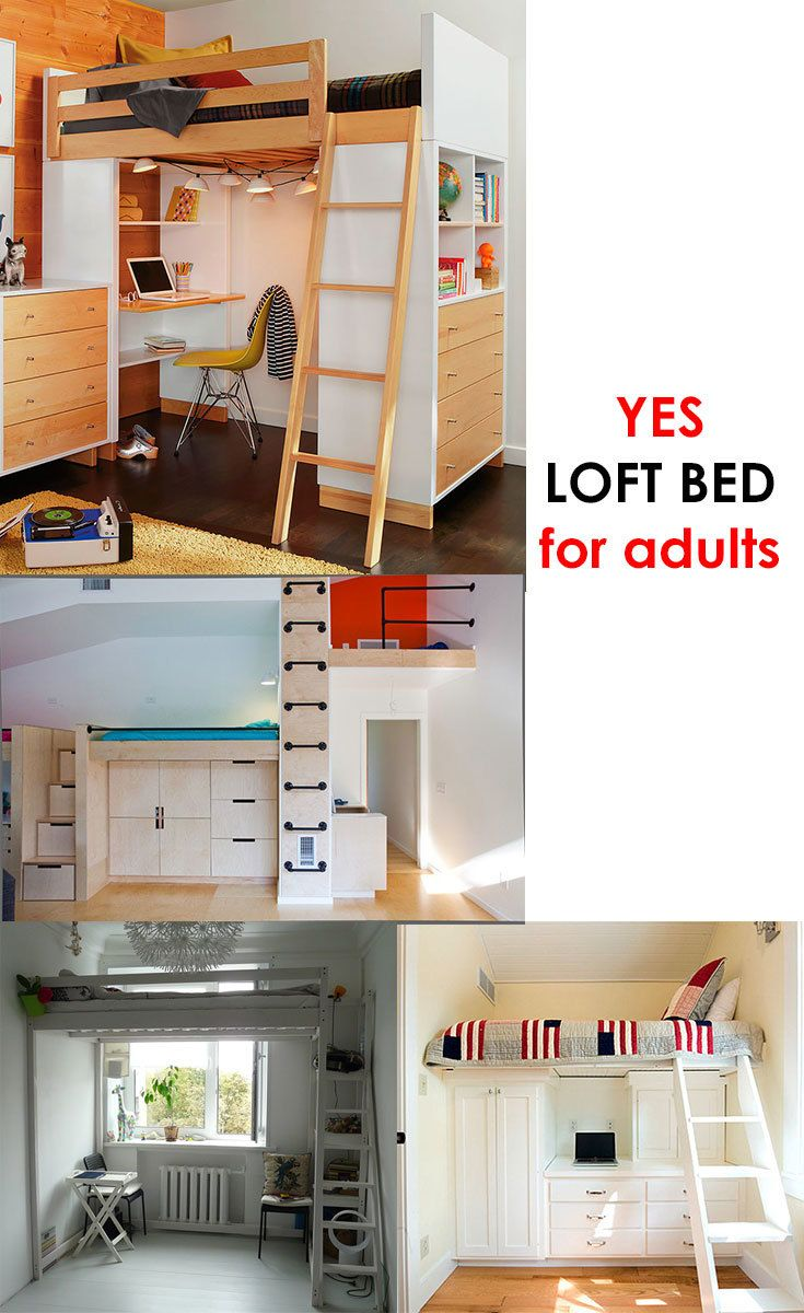 16 Standart And 2 Extreme Small Bedroom Layout Ideas From 65 To 140 Sf Small Bedroom Layout Loft Beds For Small