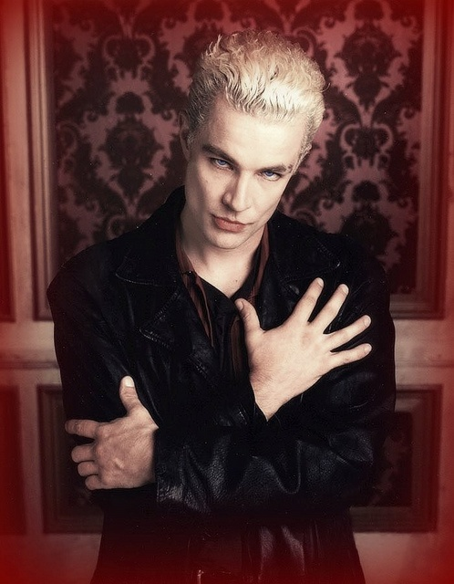 James Marsters as Spike, debuted in 'Buffy' and crossed over to 'Angel'