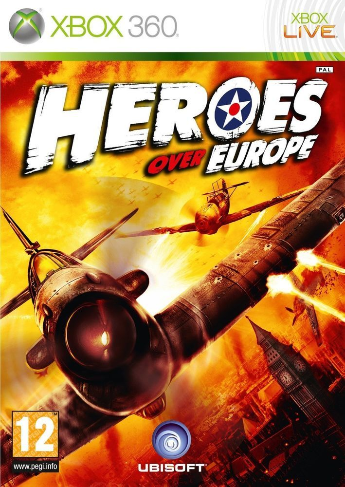 Ubisoft Heroes Over Europe    XBOX 360 usato