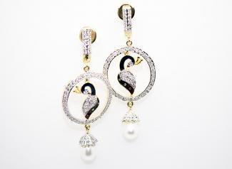 ADE111 - American Diamond Earings