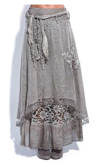 Another great find on #zulily! Brown Floral Mohair-Blend Carine Skirt #zulilyfinds