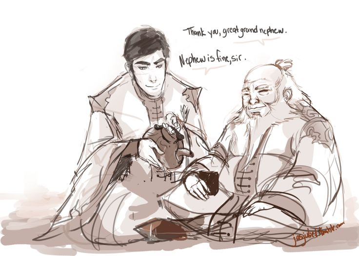 Iroh and Iroh II feels Omg Avatar FEELS.