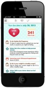 Keep Tabs on Your Baby Bump With This New Smartphone App   Wired Business   Wired.com