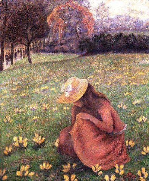 Lucien Pissarro ~ Camille Pissarro