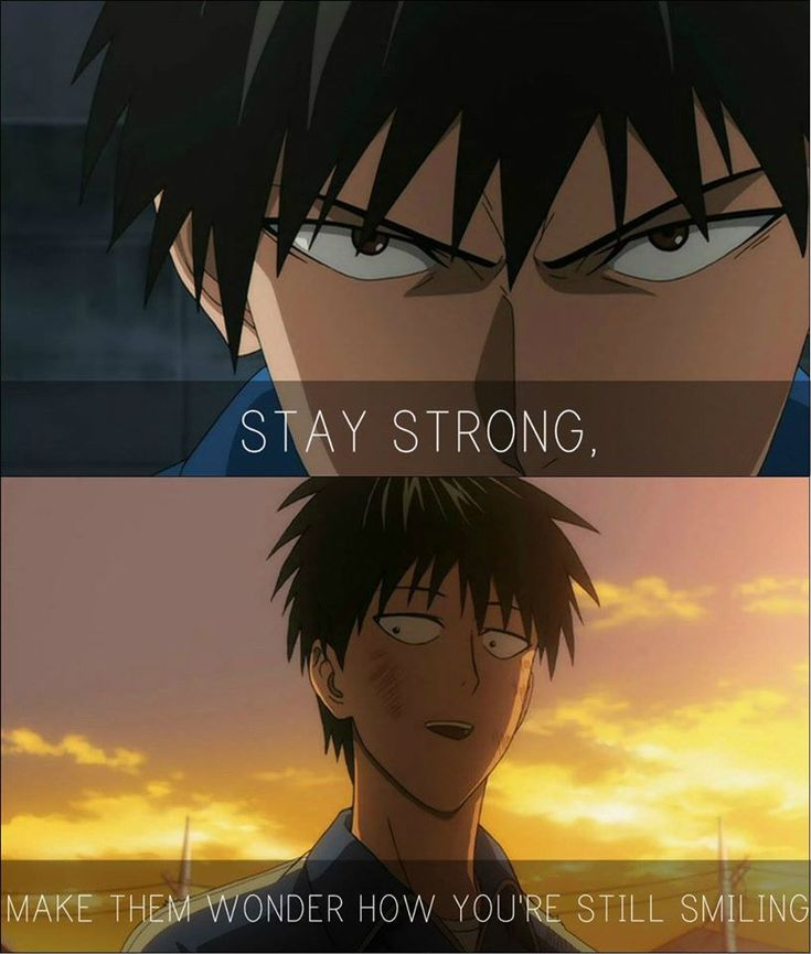 I\'m Strong Enough Anime:One punch man