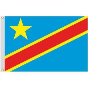 Drapeau de République Démocratique du Congo