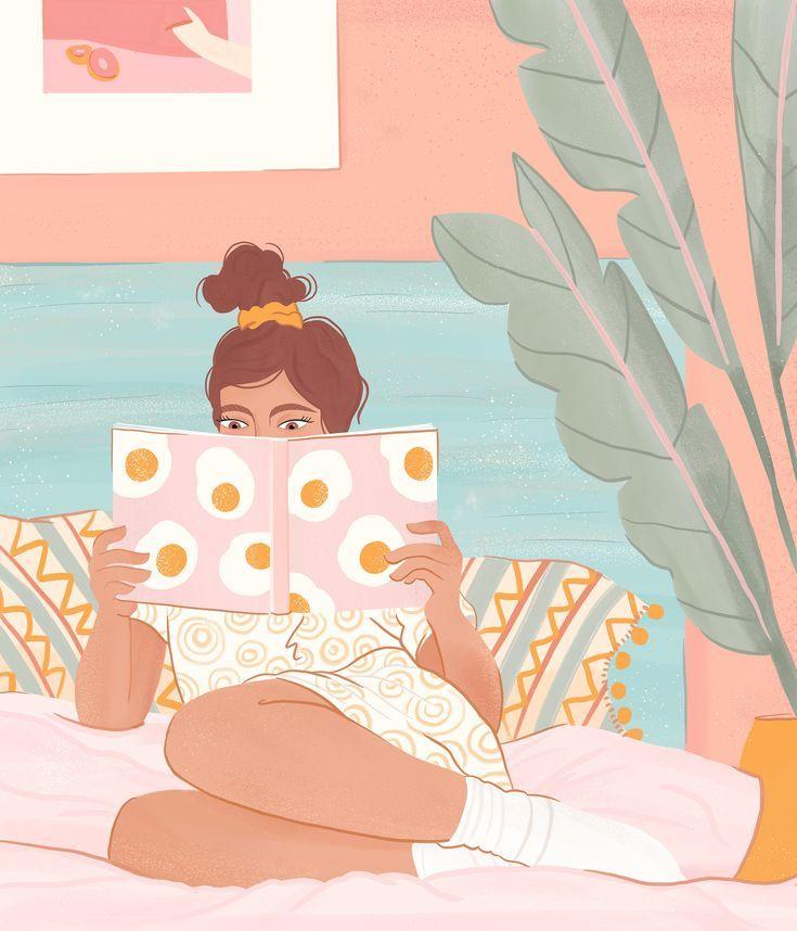 Little Boho Bed Socks – Art Print - Bed and Bedcover Woman Illustration, Digital Illustration, Boho Bedding, Neutral Bedding, Queen Bedding, Rustic Bedding, Modern Bedding, Guache, Poster S