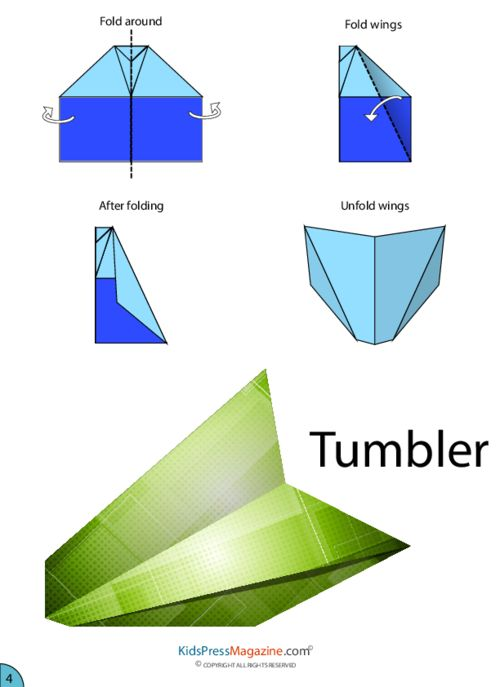 Best  Paper Airplanes Instructions Ideas On   Origami