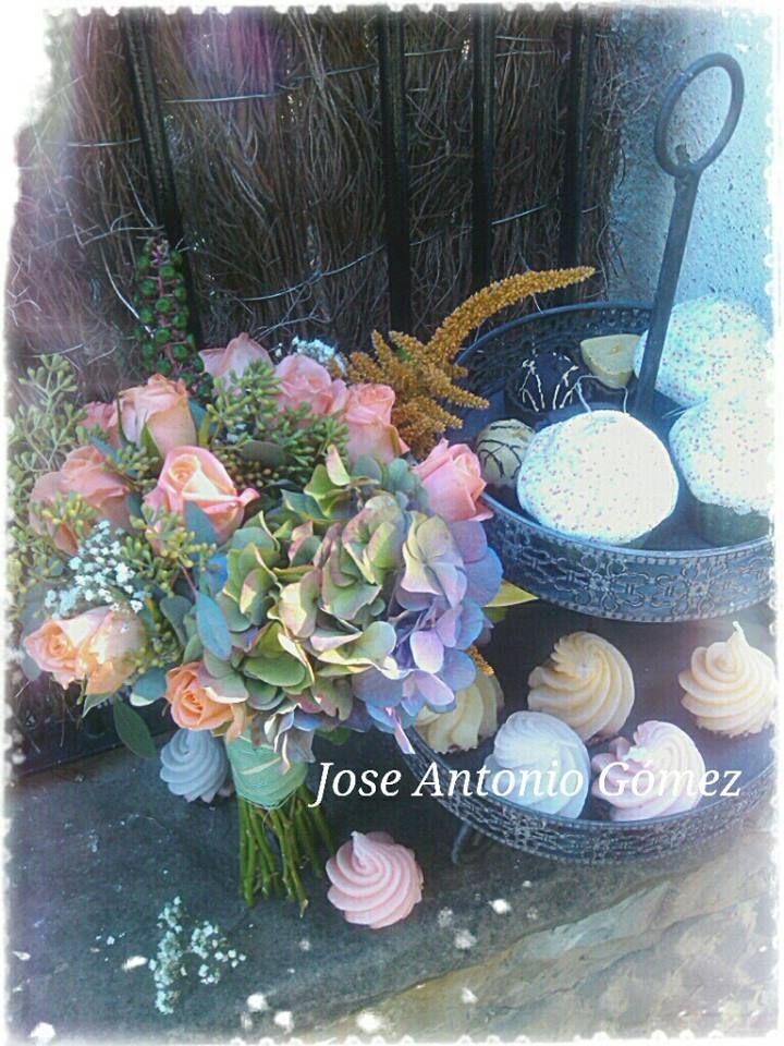 Dulces y flores..
