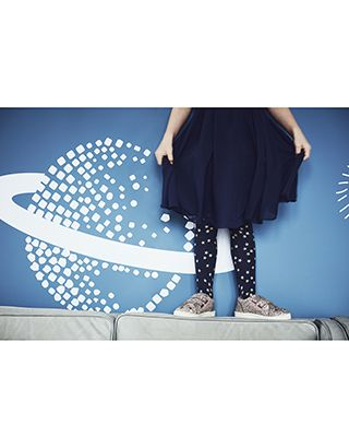 Our Multi Star tights for girls are perfect for adding sparkle to her outfits. Designed with glittery prints, this pair features a new improved fit.