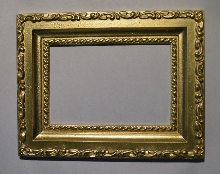 Dollhouse Cast Resin 1 12 to 1 6 Picture Frame LP12 | eBay