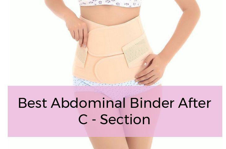 Best Postpartum Girdle & Abdominal Binder After C Section (Belly Wrap)