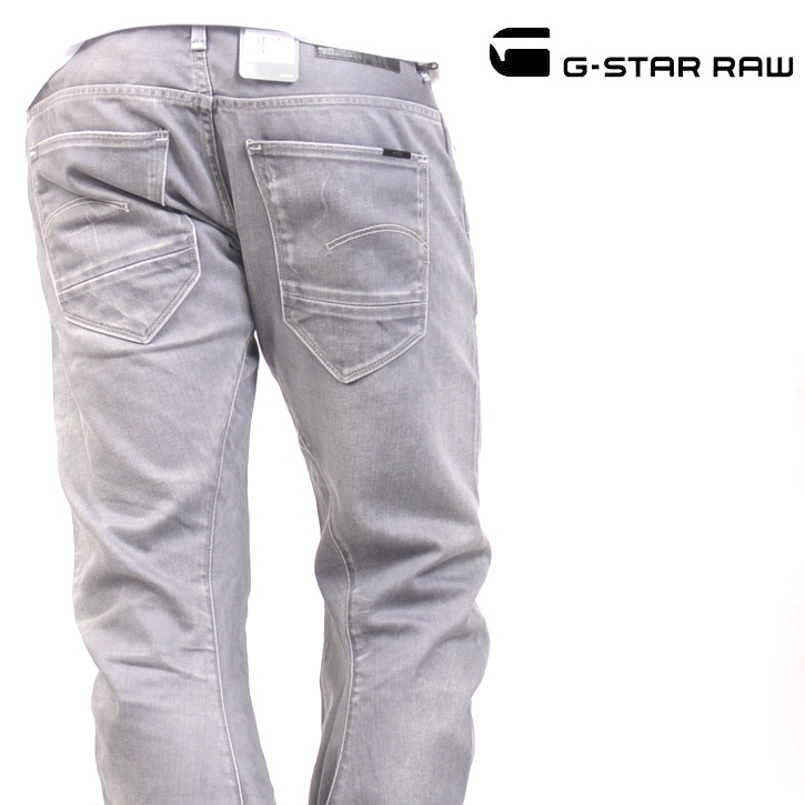 G-STAR RAW (ジースターロー) デニムパンツ ARC 3D SLIM / DUST DENIM / LIGHT AGED【送料無料】 dm-gs-176