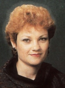 "Australian Birthday Today  - 27 May - Pauline Hanson ""One Nation"" changed politics. She got the raw prawn (shafted) in politics."