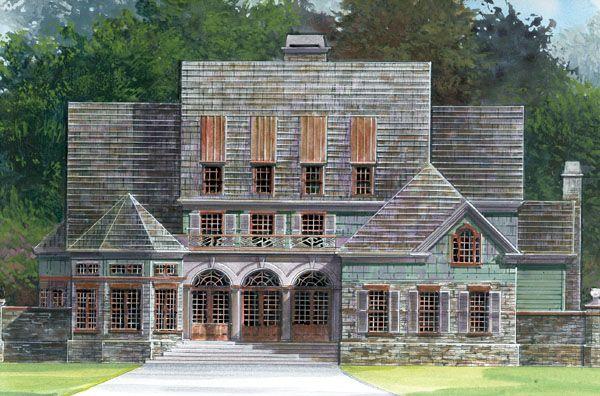 49 best Greek Revival House Plans images
