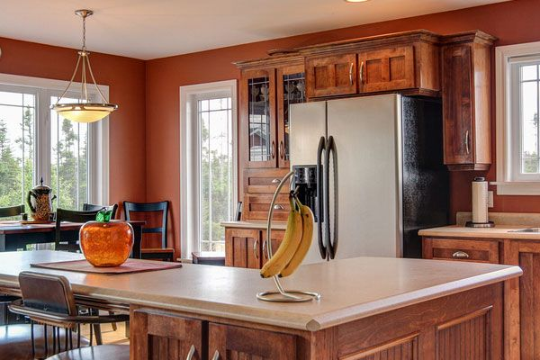 40 The Best of Painting Colors For Kitchens Walls Ideas : Rich Brown Painting Colors For Kitchen Walls