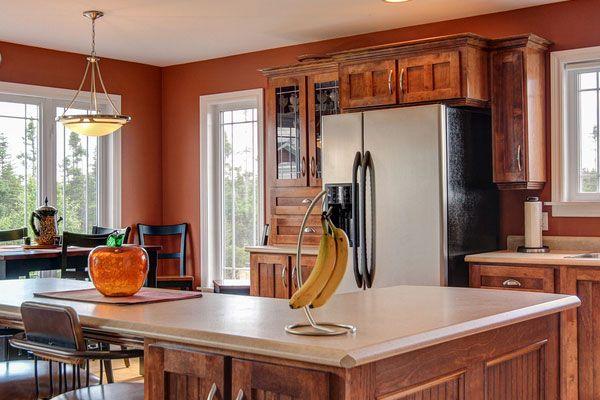 1000 ideas about orange kitchen walls on pinterest burnt orange kitchen orange kitchen and. Black Bedroom Furniture Sets. Home Design Ideas