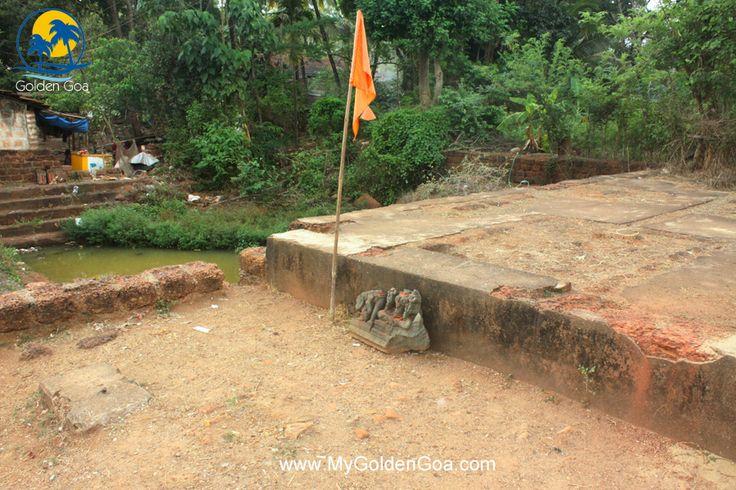 Gajantlaxmi Temple ruins and Water Tank, Curti Ponda - Golden Goa