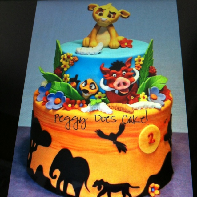 1000 images about the lion king cake on timon