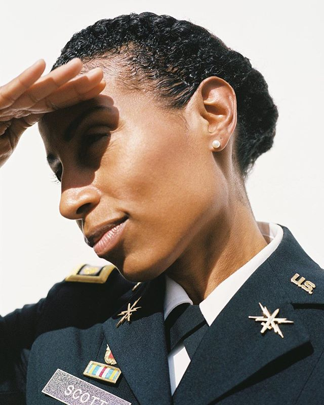 In January of this year the United States Army revised its grooming and appearance regulations including its ban on dreadlocks for female soldiers. The implications of the new directive were far greater than a single style signaling a seismic shift in attitudes toward Afro-textured hair that has long been the subject of intense scrutiny both in the military and beyond. Major Tennille Woods Scott has adapted her beauty regime under some pretty adverse conditions during her 12 years of…