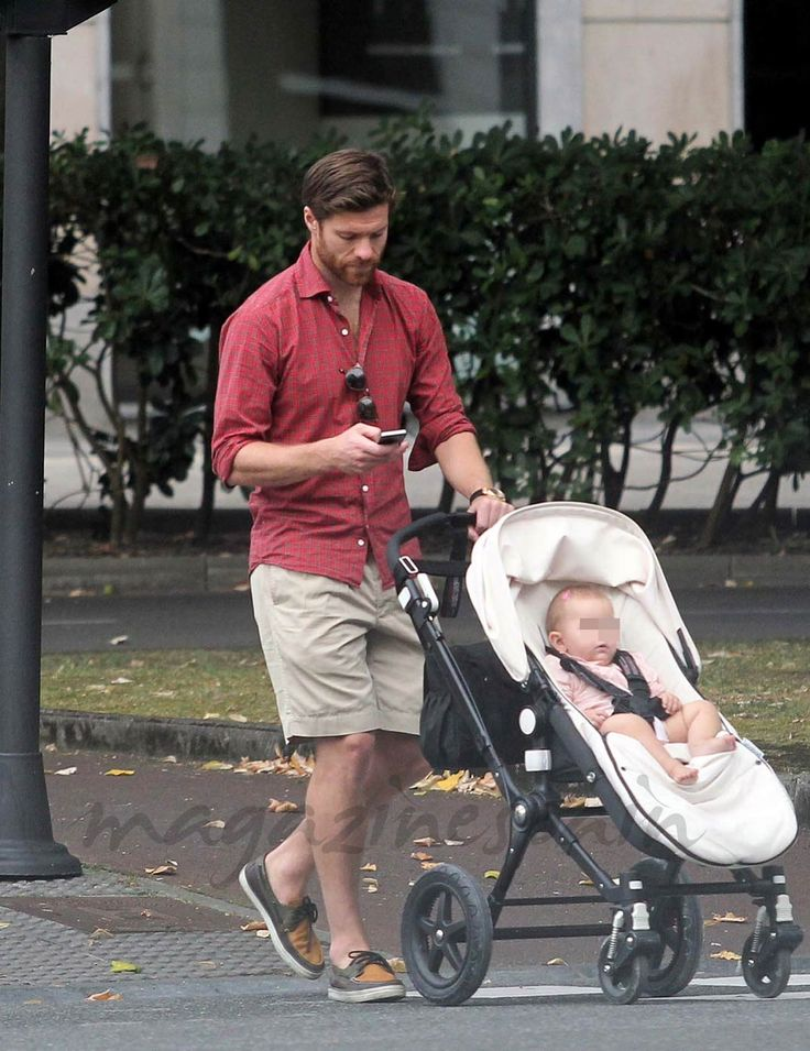 Xabi Alonso e hija