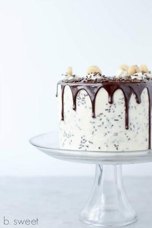 Banoffee Pie Cake |  For the foodies | chocolate | cake | dessert | foodie | food | food porn | food styling | food photography | yum | eat | recipe | Schomp MINI