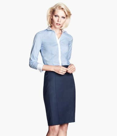 146 best images about Work outfits on Pinterest | Skirts, Belt and ...