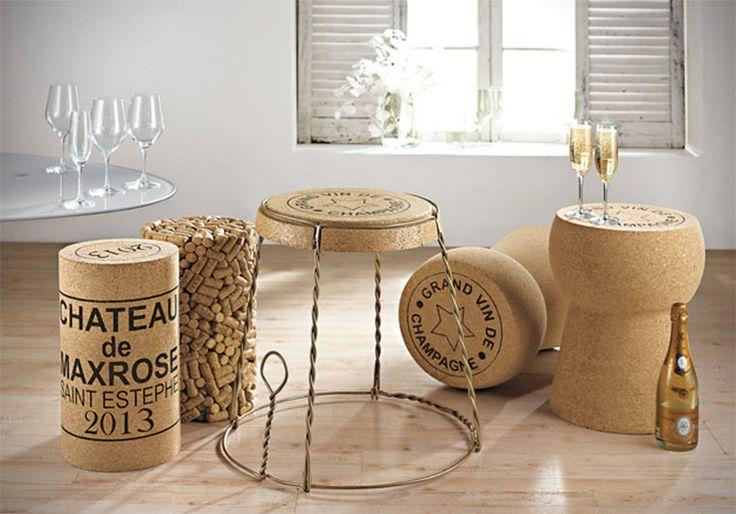 riesenkorken kreative sitzecke k chen pinterest. Black Bedroom Furniture Sets. Home Design Ideas