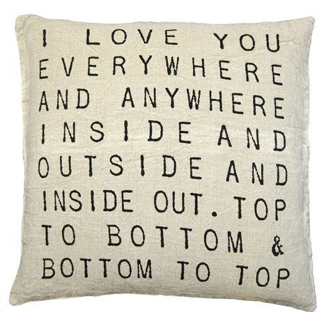Bedroom accent pillow?