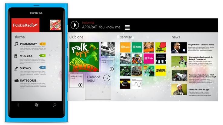 Polskie Radio - free app for Windows Phone: http://www.windowsphone.com/en-us/apps/2b40373d-5030-4ccb-a692-df7526def348