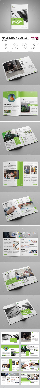 #Case Study Booklet - #Informational #Brochures Download here: https://graphicriver.net/item/case-study-booklet/18749821?ref=alena994