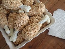 24 Adorable Fall-Themed Rice Krispie Treats