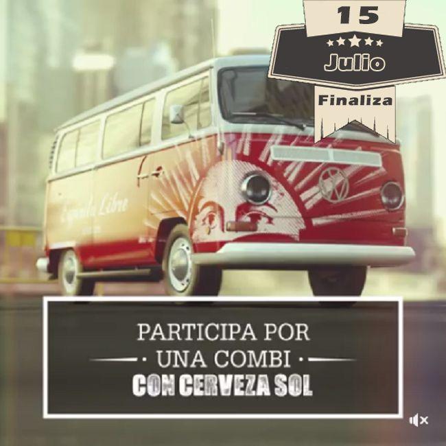 Concurso Cerveza Sol – Gana una Combi Volkswagen | Concursos Chile