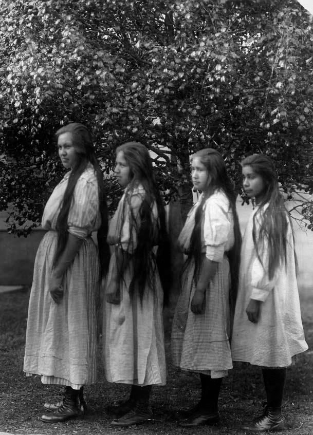 """Cherokee girls.....1918, """"They made us many promises, more than I can remember, but they kept one; they promised to take our land, and they did."""" """"Mahpiua Luta """"Red Cloud"""" Oglala Lakota"""""""