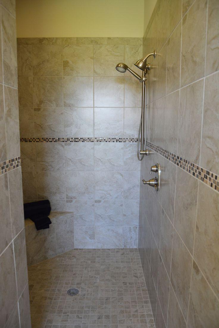 Roman Shower, the ultimate walk in shower.