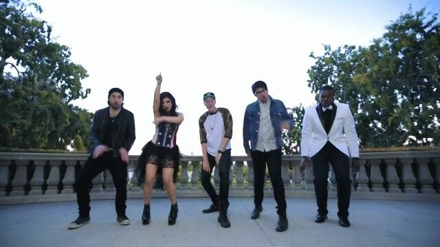 Pentatonix--cant hold us music video:)