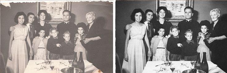 Restauración Fotográfica mediante Photoshop.