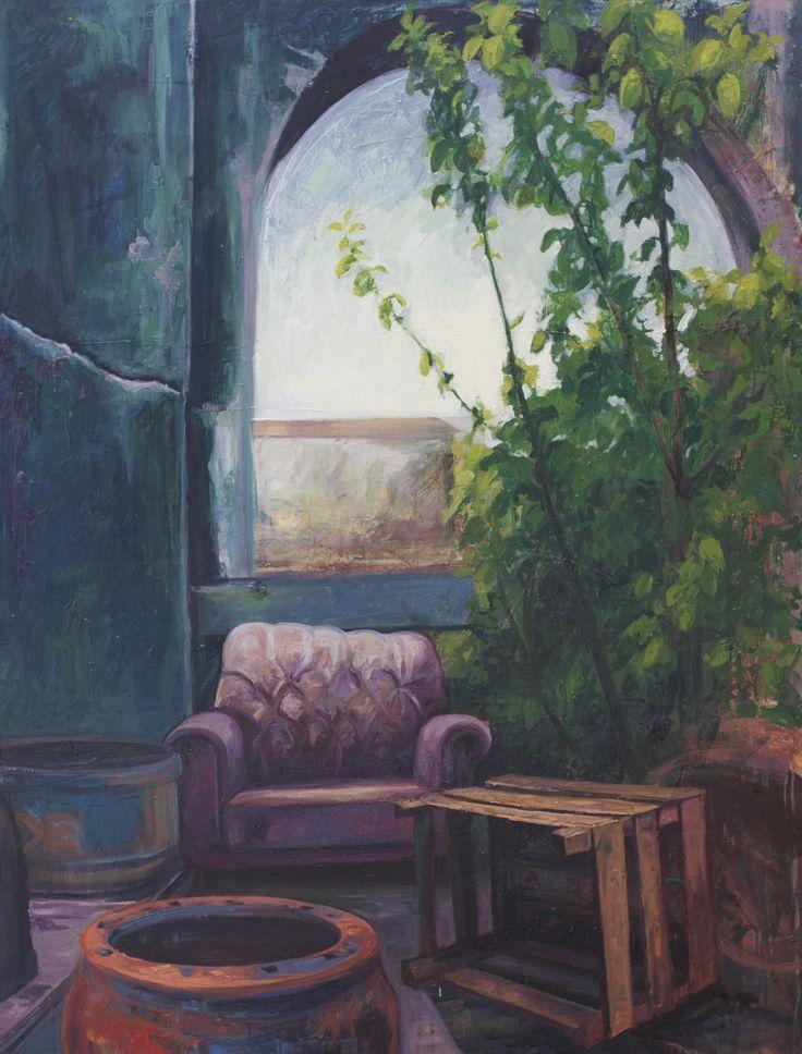 2014, 116 x 89 cm. Tuval üzerine yağlıboya / Oil on canvas