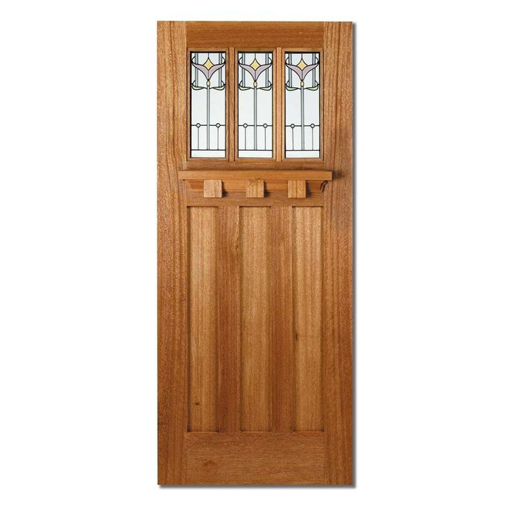 LPD Tuscany Tulip Hardwood Glazed Un-Finished External Door