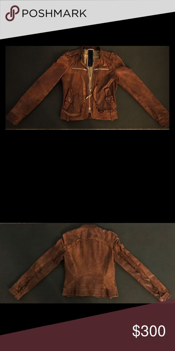 Italian Leather Jacket Original Italian Leather Jacket Great condition Nolita Jackets & Coats