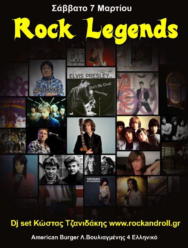 Rock Legends από το Rockandroll.gr - Κερδίστε Προσκλήσεις!!!