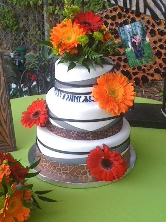 Wedding Zebra Cakes
