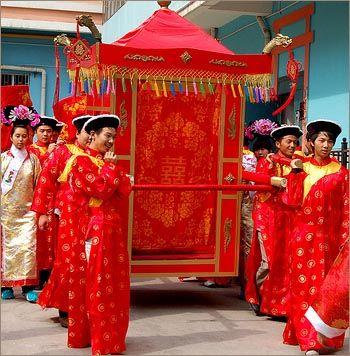 Свадьба в китае и торт