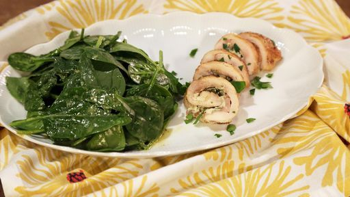 Cheesy Herbed Stuffed Chicken Thighs CLINTON KELLY