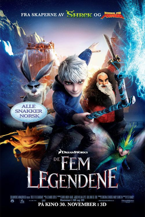 Watch Rise of the Guardians (2012) Full Movie Online Free