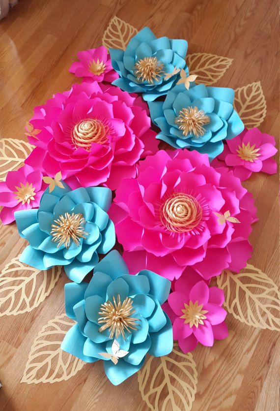 105 best paper flower how to images on pinterest giant paper paper flower backdrop paper flower wall giant paper flower mightylinksfo