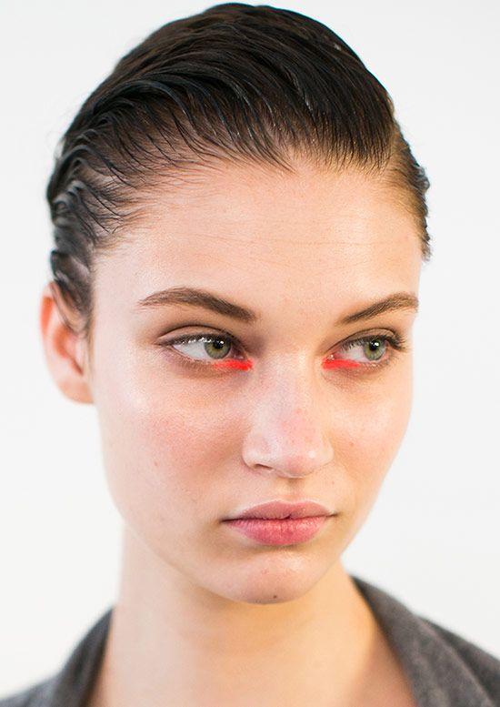 Peter Som Spring/Summer 2015 runway beauty
